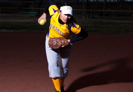 Senior pitcher Nicole Macias will look to power the Indians past one of their five opponents this weekend.
